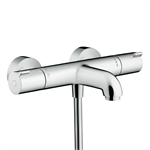 Hansgrohe Ecostat 1001 CL thermostatic bath mixer for exposed installation