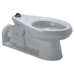 Z5630 Back Outlet Flush Valve Toilet, Vitreous China, 1.6 gpf Elongated, Floor Mounted