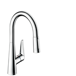 M5116-H200 Single lever kitchen mixer with pull-out spray 73851000