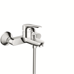 71403000 Logis E single lever bath mixer for exposed installation