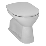 LAUFEN PRO Raised floorstanding WC, washdown, vertical outlet