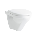 MODERNA/MODERNA R Wall-hung WC, washdown, rimless
