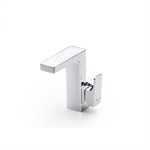 L90 Basin mixer, integrated lateral handle, with pop-up waste, Cold Start
