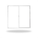 "Thermally Improved Aluminum Horizontal Slider Window, 2' 0"" to 6' 0"" Window Width, 1' 0"" to 6' 0"" Window Height"