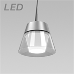 KONE 3 SMALL CLEAR LED PENDANT LUMINAIRE - KLP32