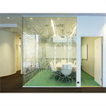 FLEX GLASSLINE WITH FRAMELESS SHOWCASE