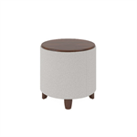 Wieland Rally Round End Table Ottoman