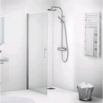 Forsa straight shower screen 90