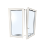 Window double UPVC-ALU Internorm KF310 Model 5