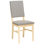 Allegro Chair With Upholstered Back