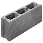 Concrete blocks in concrete and clay