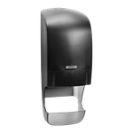 Inclusive Katrin System Toilet With Core Catcher Dispenser - Black