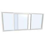 Slidingdoor triple UPVC-ALU Internorm KS430 G