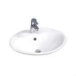 Nautic bathroom sink for built-in installation 5555