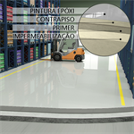 EPOXI SF 250 Flooring system for logistic warehouses
