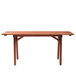 Hjorthagen, rectangular table