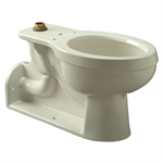 Z5640 Back Outlet Flush Valve Toilet, Vitreous China, 1.6 gpf, ADA, Elongated, Floor Mounted