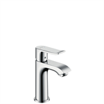 31088000 Metris Single lever basin mixer 100 with pop-up waste set for hand washbasins