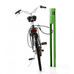 Solcell, bicycle bollard