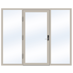 Steel Door SD4220 P65 EI30 Single-LeftRight