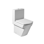 HALL Compact WC pan (back-to-wall) - Excludes cistern + seat