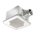 Delta Breez SIG80D Signature 80 CFM Exhaust Fan with Adjustable Speed Control and Delay Timer