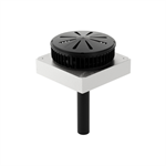 Geberit Pluvia roof outlet 12 l with clamping ring for plastic membranes