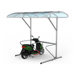 One Side Scooter Shelter