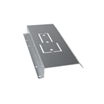 Fastening plate for LPA tile effect roofs