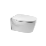 KHROMA Wall-hung WC with horizontal outlet