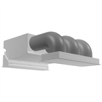 CYVL Concealed ceiling biddle air curtain for VRV