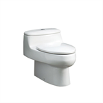 CHICAGO One-piece siphonic WC