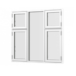 Formaplus Premium window Triple casement side opening
