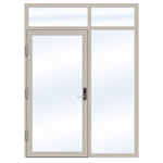 Steel Door SD4220 P65 EI60 Single-RightOver