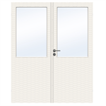 Interior Door Charisma D200 GW13 Double Unequal