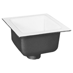 "FD2375 12"" x 12"" A.R.E Floor Sink with 6"" Sump Depth"