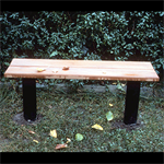 City, bench 120 cm