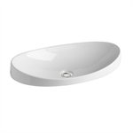 Klea Countertop washbasin 650x350 mm.