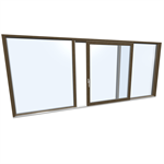 LIFT-SLIDING DOOR HS 330 Modell G TIMBER/ALUMINIUM