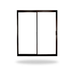 "Thermally Improved Aluminum Sliding Doors, 2, 3 or 4-Panels, 5' 0"" to 16' 0"" Window Width, 6' 8"" to 8'0"" Window Height"