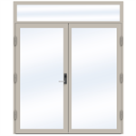 Steel Door SD4220 P65 EI30 Double-Over