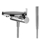 KARTELL BY LAUFEN Bath mixer for Simibox 1-Point, complete set