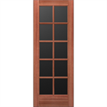 10-Lite Wood French Door - Interior  Commercial / Residential with Fire Options - K6020