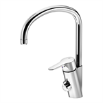 Kitchen faucet Nautic with high spout, with dishwasher shut-off