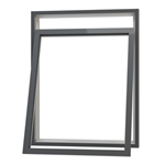 Ribo Alu Reversible window