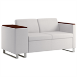 Wieland Rally Compose Loveseat, Available in Mid-Back Height