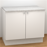 Base cabinet for sink 2026100 Arkitekt Plus