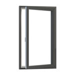 Ribo Alu Sidehung window