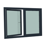 S9000 Double-leaf turn tilt window