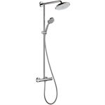 Croma Showerpipe 220 1jet EcoSmart 9 l/min with thermostat 27243000